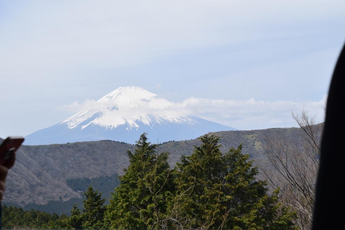 View of Mt. Fuji from Hakone, Japan