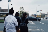 outside Shichijo station