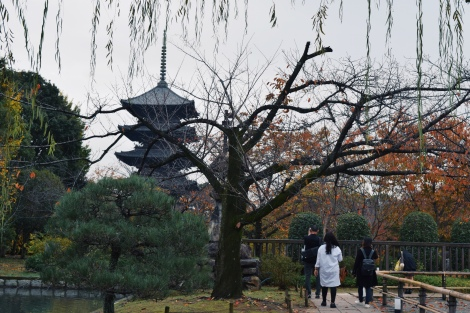 Toji's five storied pagoda
