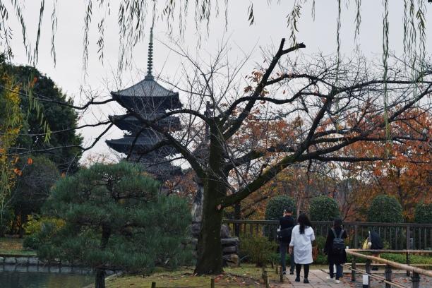 Toji's five storied pagoda